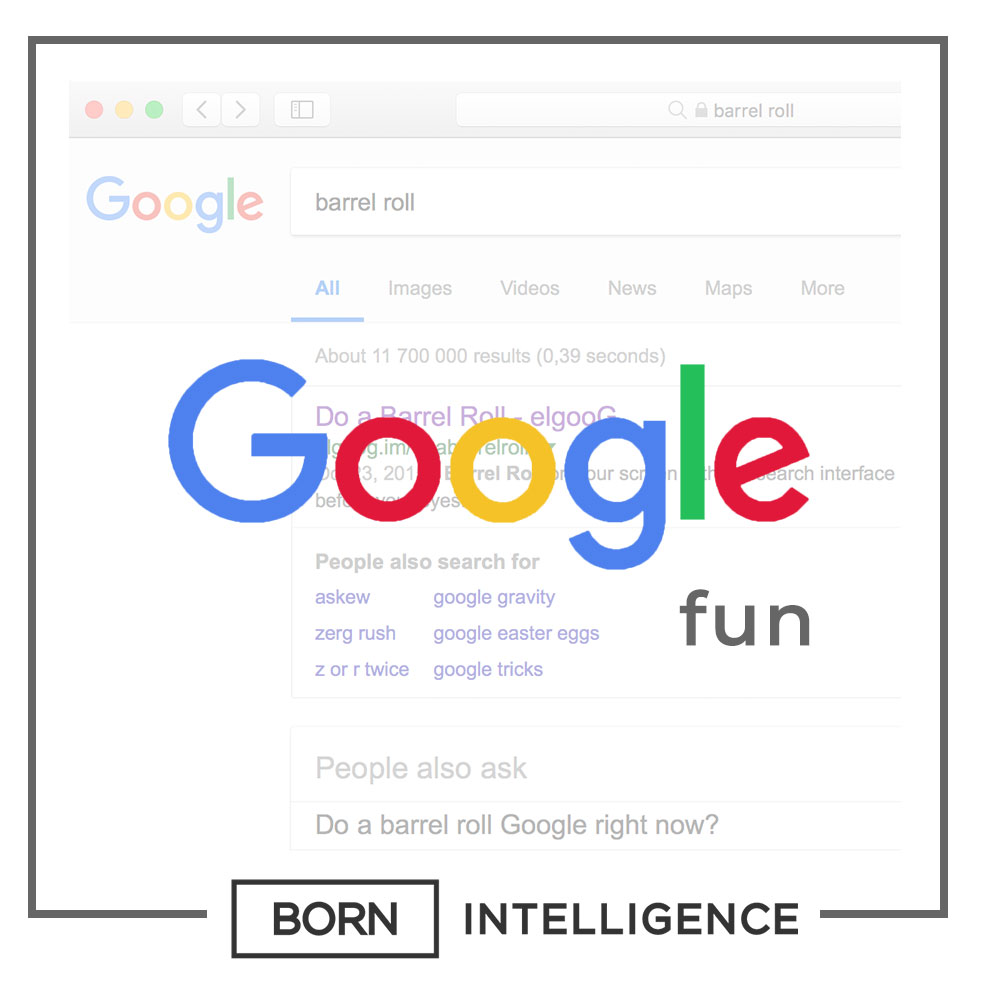 Born Intelligence Fun things to do with google search