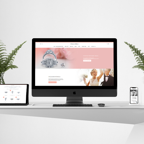 Born Intelligence, Deonne Le Roux, Deonne Le Roux Jewellers, website, website redesign, website redevelopment, Website design, website development, design and development, web designer, web developer, website overhaul, SEO, user-friendly, mobile-friendly,